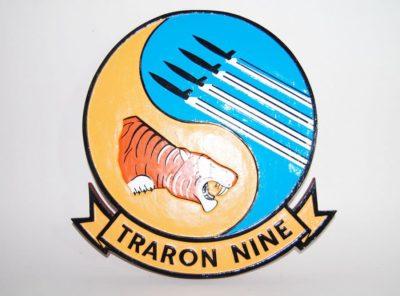 VT-9 Tigers Plaque