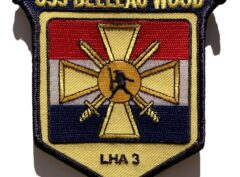 USS Belleau Wood LHA-3 Patch – Sew On