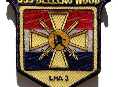 USS Belleau Wood LHA-3 Patch – Sew On