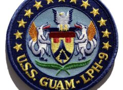 USS Guam LPH-9 Patch – Sew On