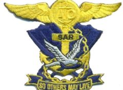 US Navy SAR Patch – Plastic Backing