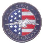 USAF C-5M Super Galaxy Patch – Plastic Backing