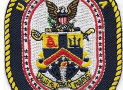USS America LHA-6 Patch – Plastic Backing