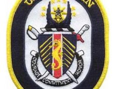 USS Bataan LHD 5 Patch – Plastic Backing