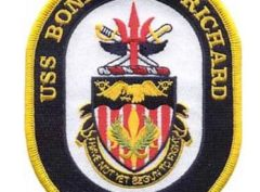 USS Bonhomme LHD-6 Patch – Plastic Backing