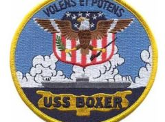 USS Boxer Patch – Plastic Backing