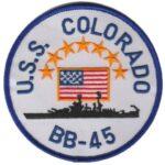 USS Colorado BB-45 – Plastic Backing