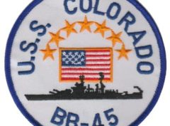 USS Colorado BB-45 – Plastic Backing