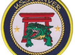 USS Denver LPD 9 Patch – Plastic Backing