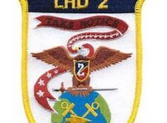 USS Essex LHD-2 Patch – Plastic Backing