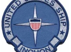 USS Inchon LPH-12 Patch – Plastic Backing