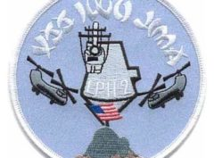 USS Iwo Jima LPH-2 Patch – Plastic Backing