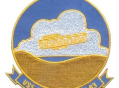 USS Kitty Hawk CV-63 Patch – Plastic Backing