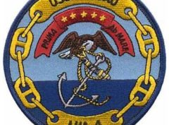 USS Nassau- LHA-4 Patch – Plastic Backing