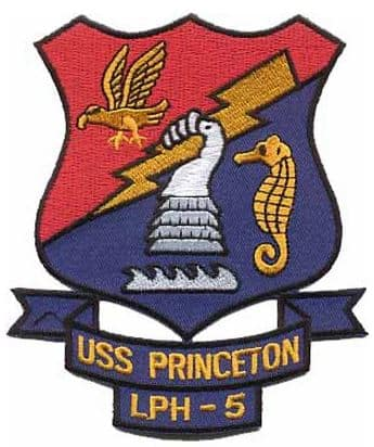 USS Princeton LPH-5 Patch – Plastic Backing