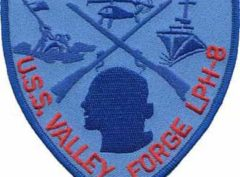 USS Valley Forge LPH-8 – Plastic Backing