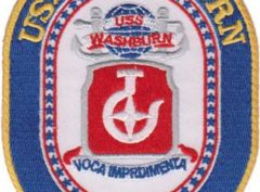 USS Washburn AKA-108 – Plastic Backing