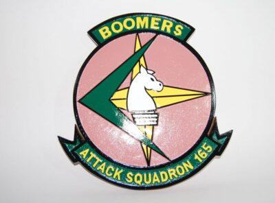 VA-165 Boomers Plaque