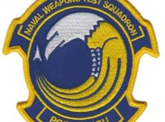 Naval Weapons Test Squadron Point Mugu Patch – Plastic Backing