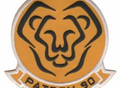 VP-90 Lions Squadron Patch – Plastic Backing