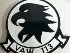 VAW-113 Black Eagles Plaque