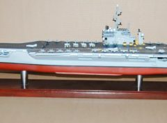 USS Kitty Hawk CV-63 Aircraft Carrier Model