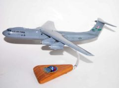 313th Airlift Squadron C-141B Model