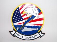 HS-14 Chargers Plaque