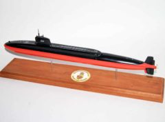 USS George C. Marshall SSBN-654 Submarine Model