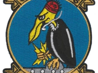 VPU-1 Old Buzzards Squadron Patch – Plastic Backing