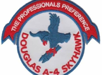 A-4 Skyhawk Professionals Preference Patch  – Plastic Backing