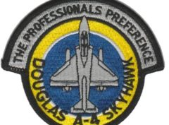 A-4 Skyhawk Professionals Preference VT-7 Colors Patch – Plastic Backing
