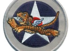 Air Corps Flying Tiger Patch – Plastic Backing