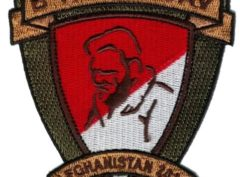 B Trp 3/6 Cav Patch – Plastic Backing