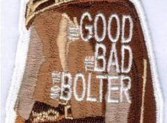 CQ Det The Good, The Bad and the Bolter Patch – Plastic Backing