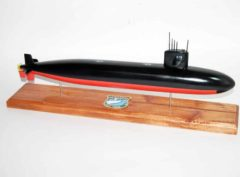 USS Silversides SSN-679 Submarine Model