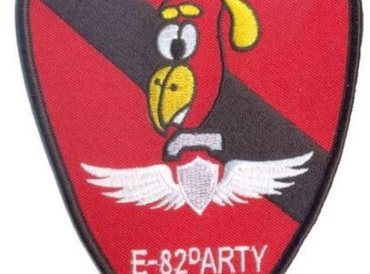 E Co 82nd ARTY Woodpeckers Patch – Plastic Backing