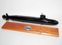 USS North Carolina (SSN-777) Submarine Model