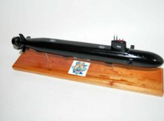 USS Minnesota (SSN-783) Submarine Model