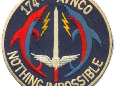 US Army 174th Aviation Patch – Plastic Backing