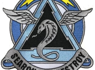 US Army 307th Attack Helicopter Battalion Patch – Plastic Backing
