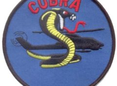 US Army AH-1 Cobra Patch – Plastic Backing