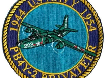 US Navy PB4Y-2 Privateer Patch – Plastic Backing