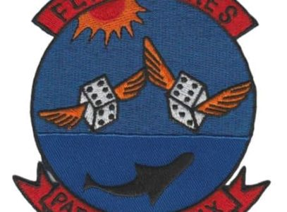 US Navy Patrol Squadron 66 Flying Sixes Patch – Plastic Backing