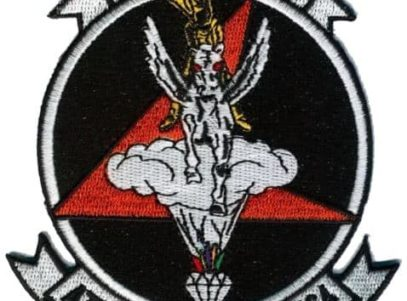 VA-164 Ghostriders Squadron Patch – Plastic Backing