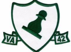 VA-42 Green Pawns Squadron Patch – Plastic Backing