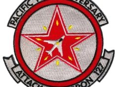 VA-127 Pacific Fleet Adversary Patch – Plastic Backing