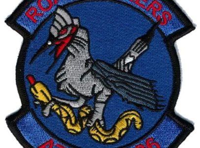 VA-36 Roadrunners Squadron Patch – Plastic Backing