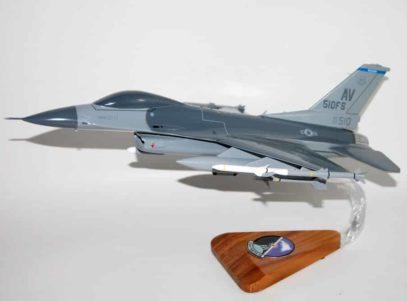 510th Fighter Squadron F-16 Fighting Falcon Model