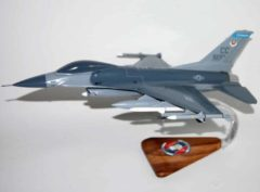 523d Fighter Squadron F-16 Fighting Falcon Model